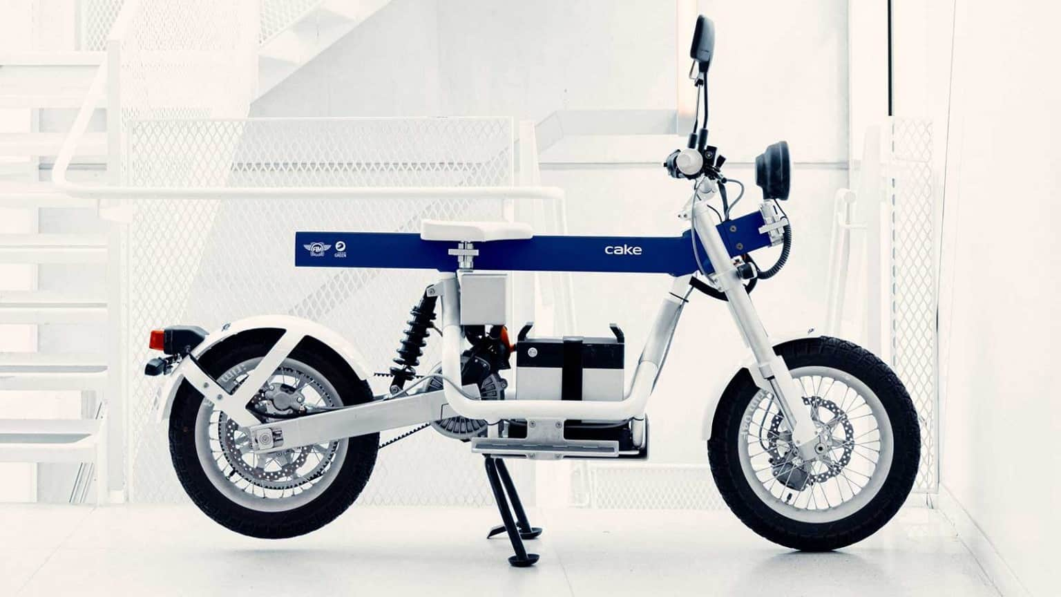 FIM cake electric motorcycle.