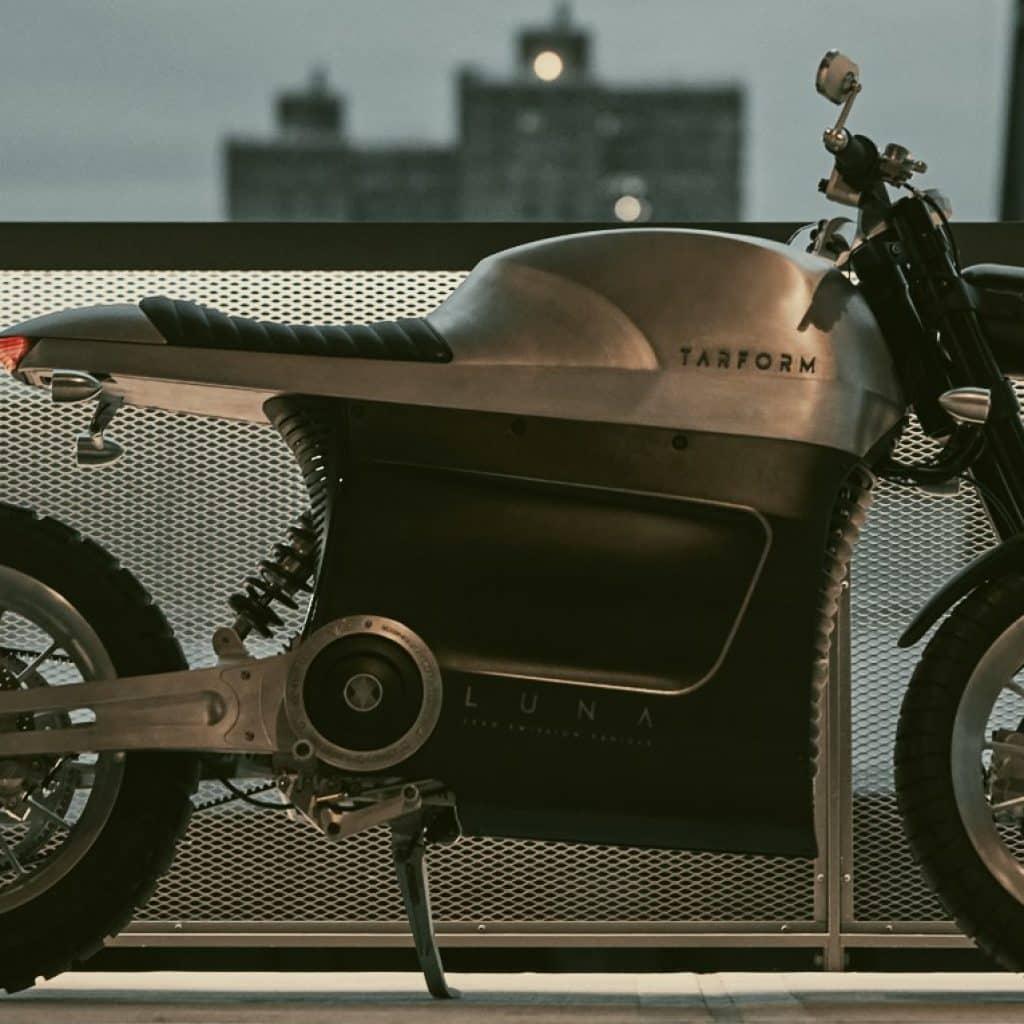 tarform luna electric motorcycle.