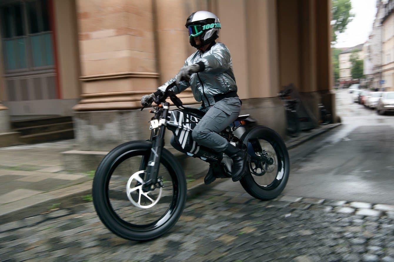 BMW ebike AMBY electric motorcycle.