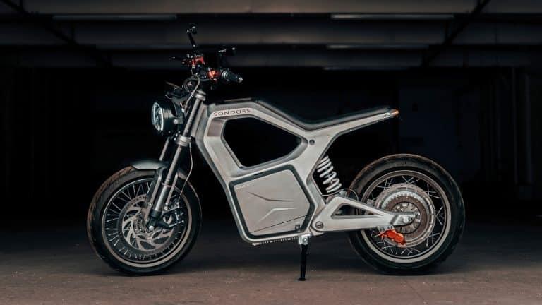 sondors metacycle electric motorcycle.