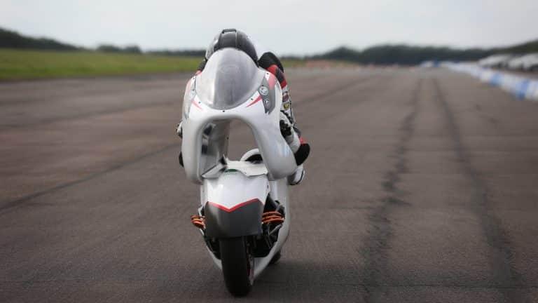white motorcycles wmc250ev front end.